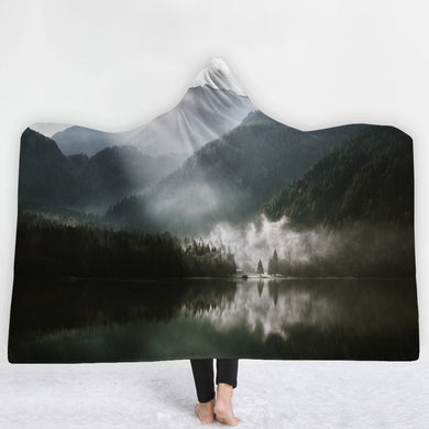 Mountain Mist Hooded Blanket - 2 sizes