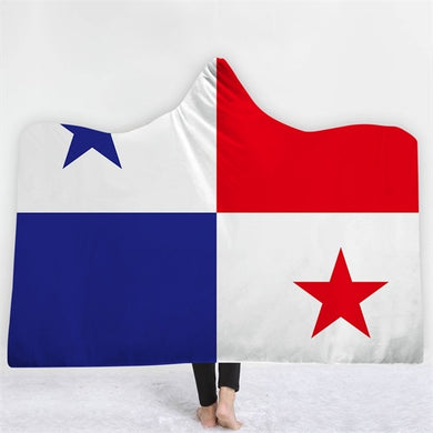 Panama Themed Hooded Blanket - 2 sizes