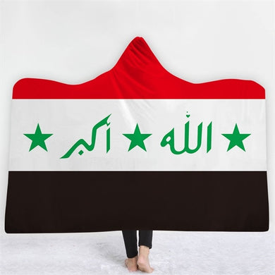 Iraqi (1991-2003) Themed Hooded Blanket - 2 sizes