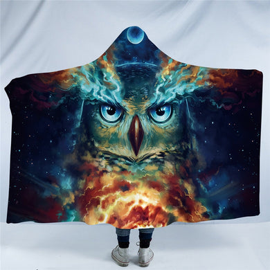 Nebowla by JoJoesArt Hooded Blanket - 2 sizes