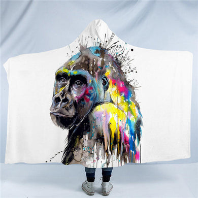 I See The Future by Pixie Cold Art - Hooded Blanket - 2 sizes