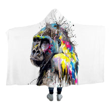 I See The Future by Pixie Cold Art Hooded Blanket - 2 sizes