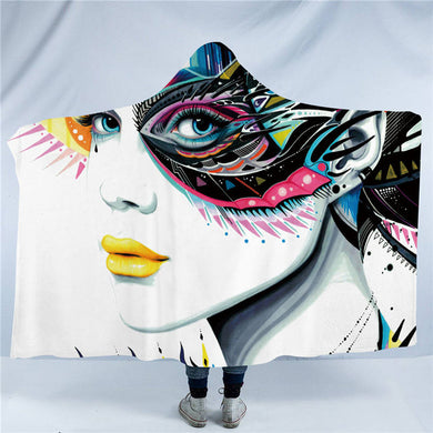In My Mind by Pixie Cold Art - In My Mind - Hooded Blanket - 2 sizes