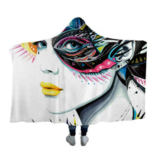 In My Mind by Pixie Cold Art Hooded Blanket - 2 sizes