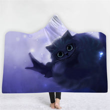 Cheshire Kitty Hooded Blanket - 2 sizes