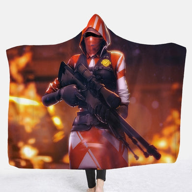 Hooded Blanket - The Ace - 2 sizes