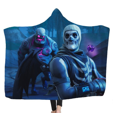 Hooded Blanket - Skull Trooper #2 - 2 sizes