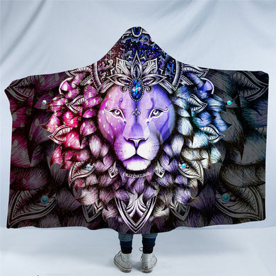 Leo by Brizbazaar Hooded Blanket - 2 sizes