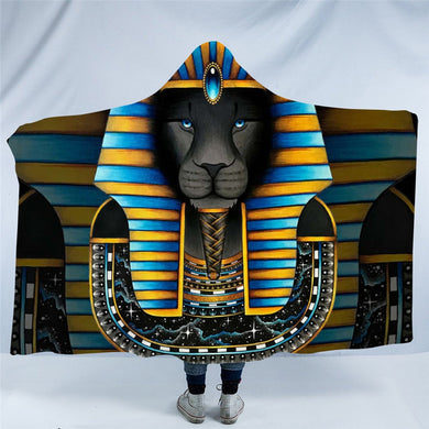 King by Brizbazaar Hooded Blanket - 2 sizes
