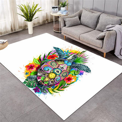 Turtle Life by Pixie Cold Art Large Mat - 3 sizes