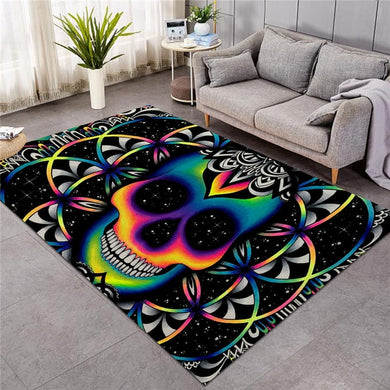 Chaos By Brizbazaar - Chaos Skull Large Mat - 3 sizes