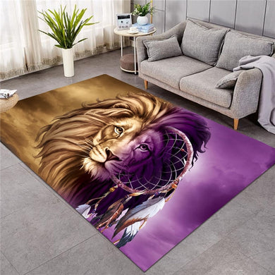 Shades Of Lion Dreamcatcher - Large Mat - 3 sizes