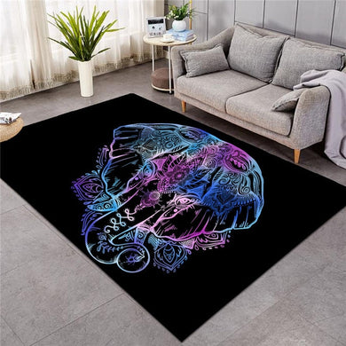 Lotus Elephant - Large Mat - 3 sizes