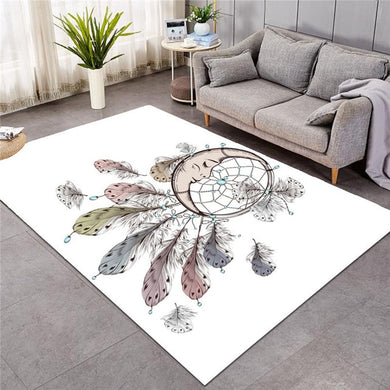Sleeping Moon Dreamcatcher - Large Mat - 3 sizes
