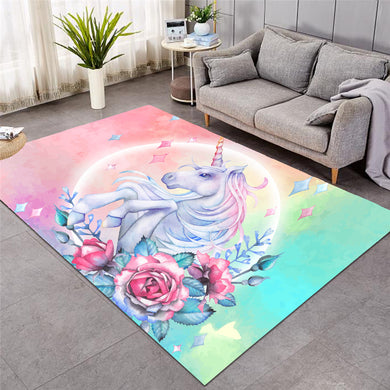 Unicorn & Roses - Large Mat - 3 sizes
