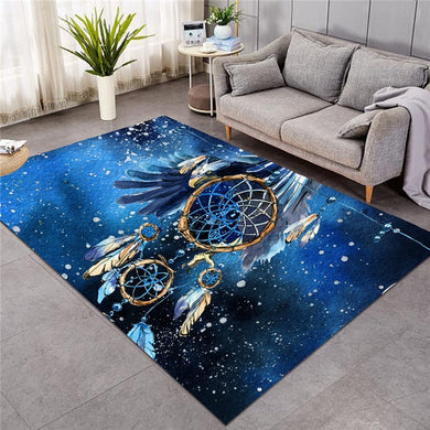 Blue Galaxy Dreamcatcher - Large Mat - 3 sizes