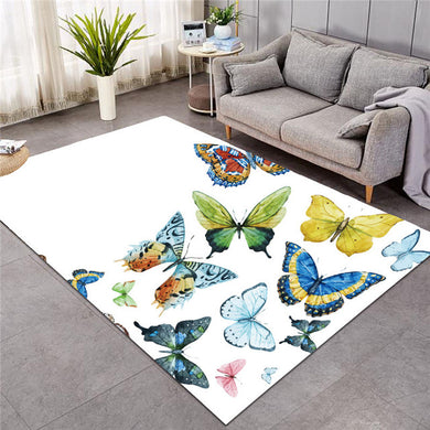 Flying Butterflies - Large Mat - 3 sizes