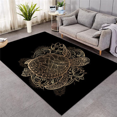 Golden Turtle - Large Mat - 3 sizes