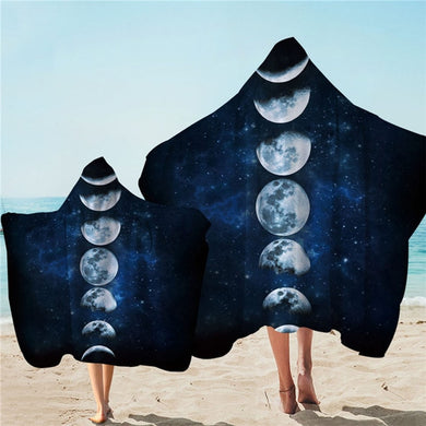 Moon Eclipse Hooded Towel - 2 sizes