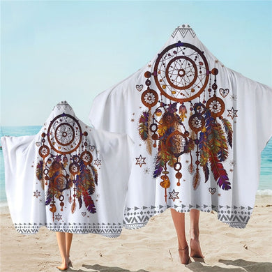 Bohemian Dreamcatcher Hooded Towel - 2 sizes