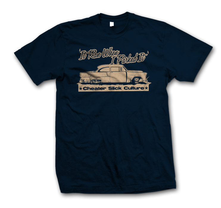"""It Ran When I Parked It"" T-shirt"