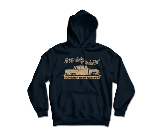 """It Ran When I Parked It"" Hoodie."