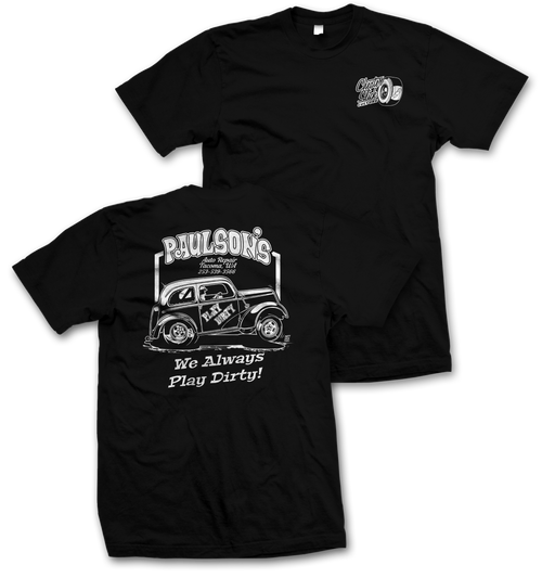 Play Dirty Racing T-shirt.