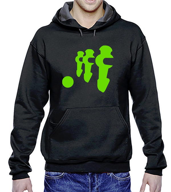 Three men Hoodie