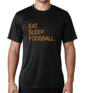 Eat Sleep Foosball Dri-Fit