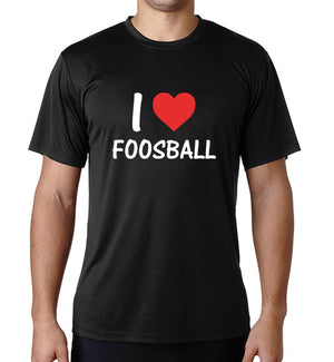 I Love Foosball Dri-Fit
