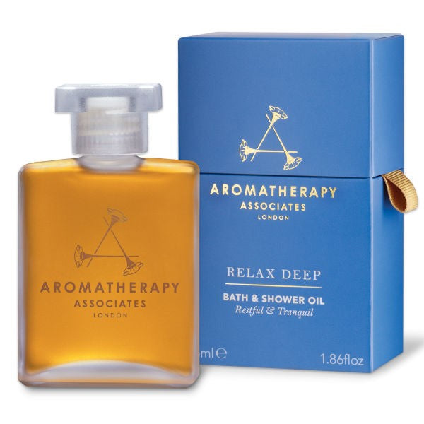 Aromatherapy Associates Deep Relax Bath & Shower Oil (55ml)