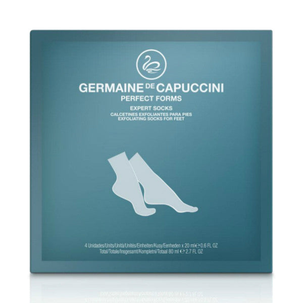 Germaine de Capuccini Perfect Forms Exfoliating Socks (2 Pairs)