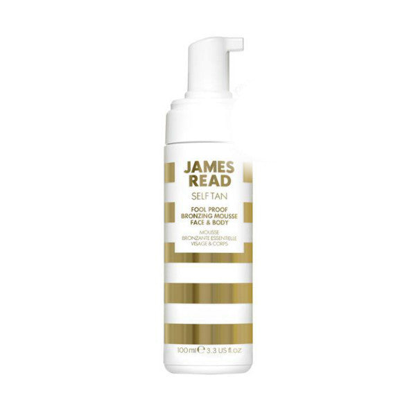 James Read Self Tan Fool Proof Bronzing Mousse Face & Body (100ml)