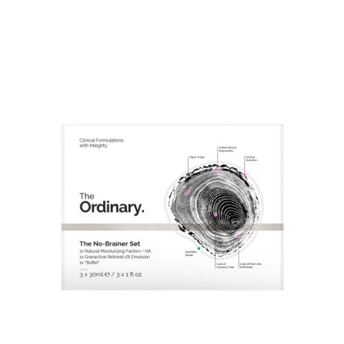 The Ordinary No-Brainer Set (3 x 30ml)