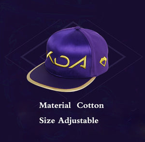 GORRA BORDADA -KDA-