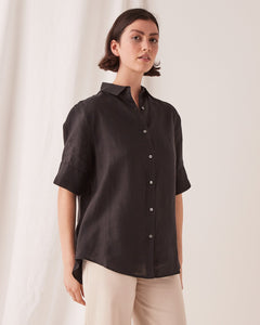 ASSEMBLY LABEL  //  SS Shirt BLACK
