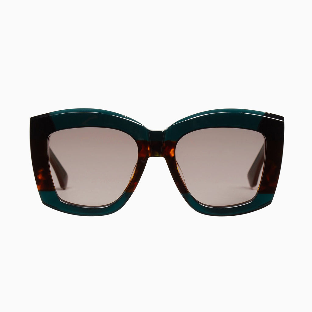VALLEY  //  COLTRANE - DARK SEA GREEN w.TORT CENTRE/ BROWN LENS