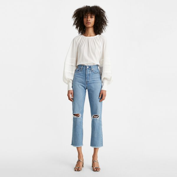 LEVIS  //  Wedgie Fit Straight Jeans MARKET STREET