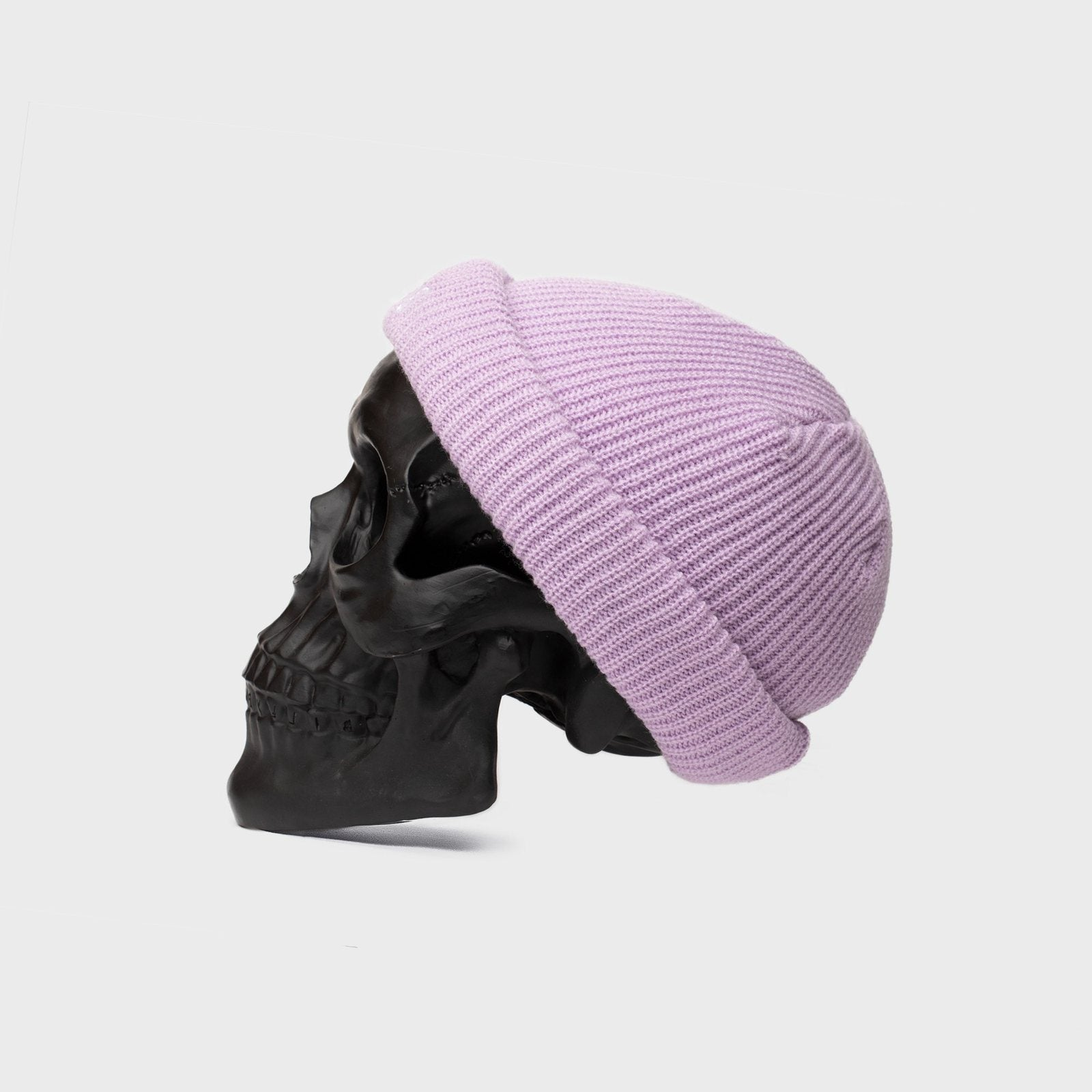 BILLY BONES  //  Docker Knit Beanie PURPLE BONES