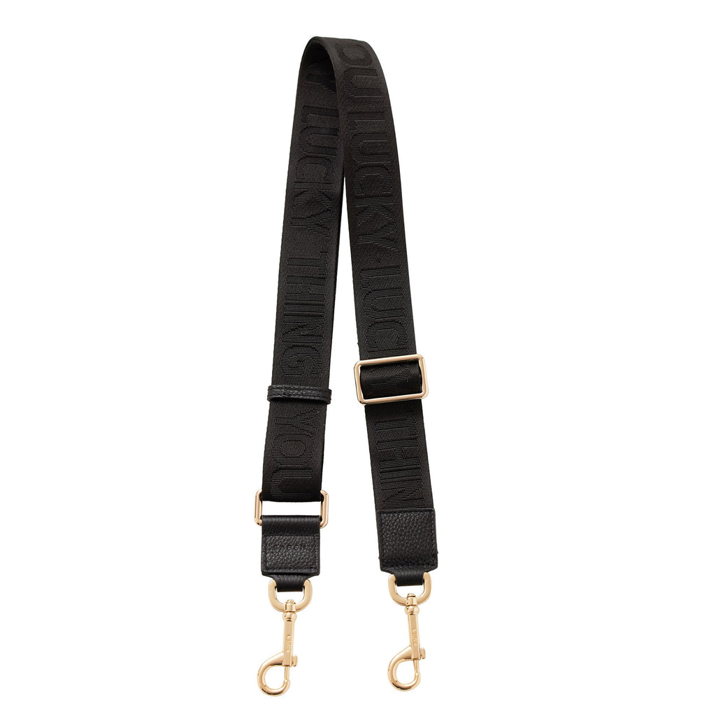 SABEN  //  Feature Strap BLACK LUCKY THING