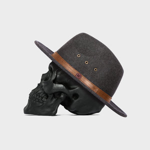 BILLY BONES  //  Fedora SHADOW GREY