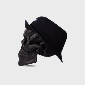BILLY BONES  //  Fuck It Just Bucket Hat BLACK