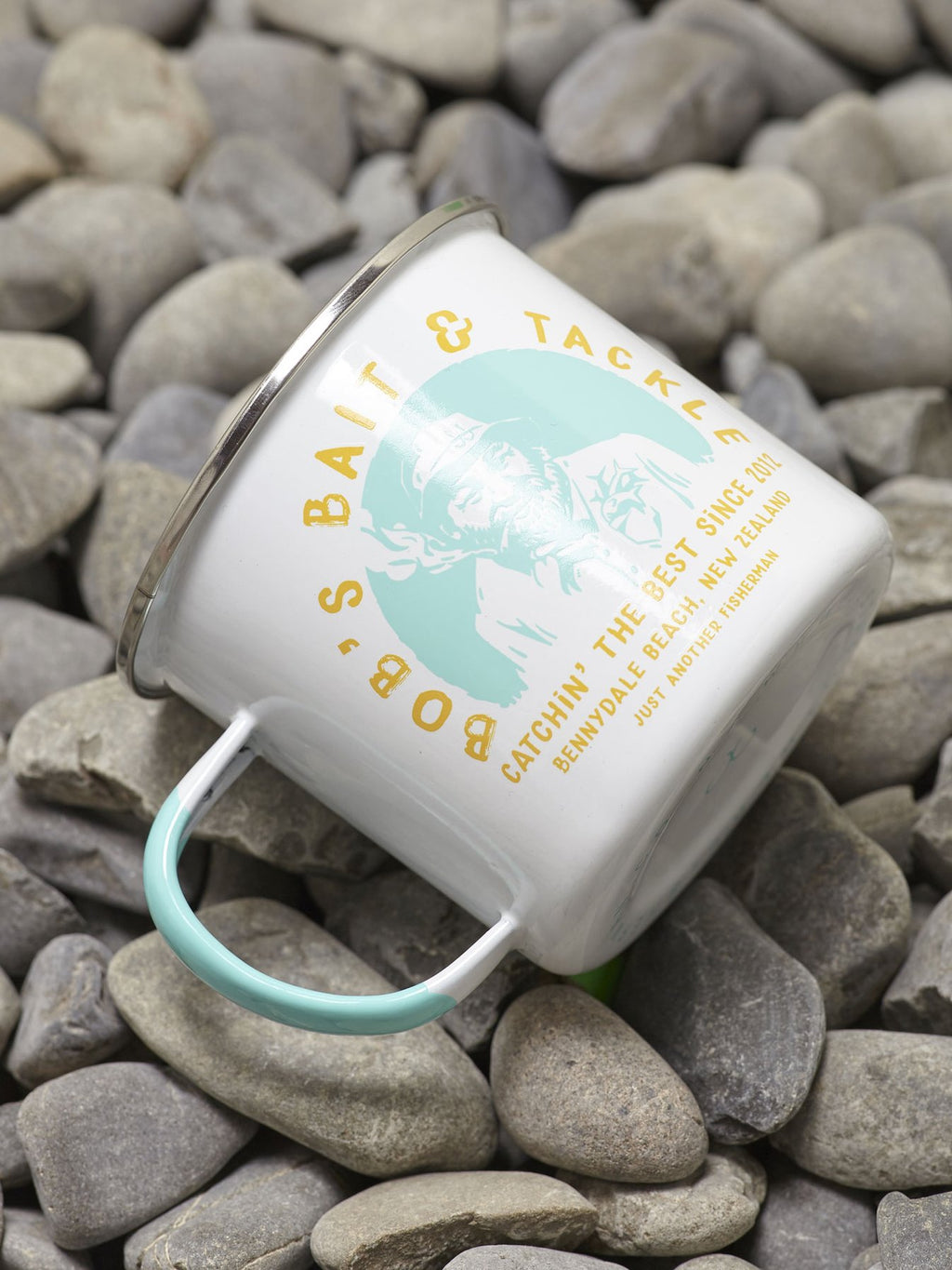 JUST ANOTHER FISHERMAN  //  Bobs Bait & Tackle Mug WHITE