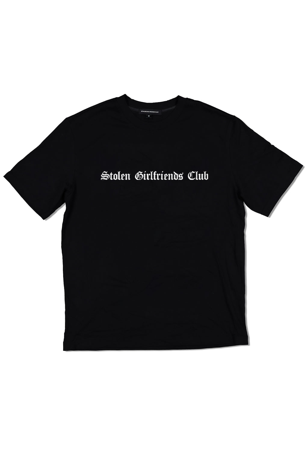 STOLEN GIRLFRIENDS CLUB  //  UNISEX Gothic Logo Tee BLACK