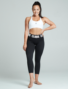 CLIQUE  // Gen III Compression Tights 7/8 BLACK