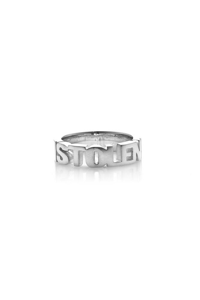 STOLEN GIRLFRIENDS CLUB  //  Mini Stolen Block Ring