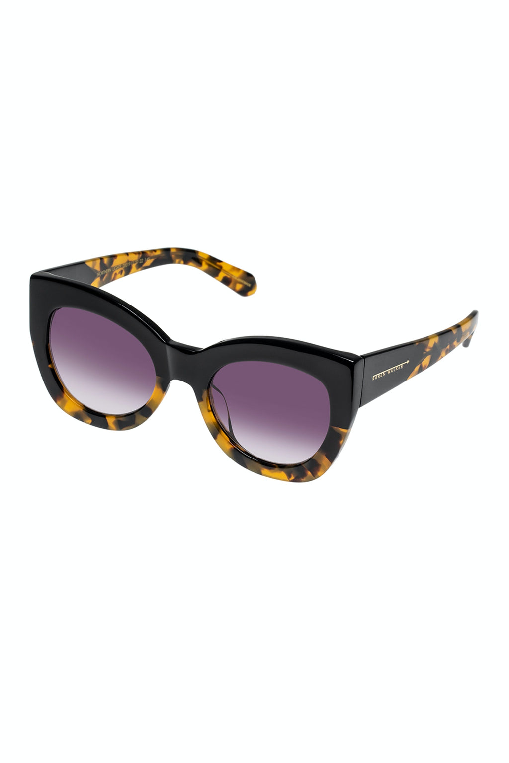 KAREN WALKER  //  Northern Lights BLACK/CRAZY TORT