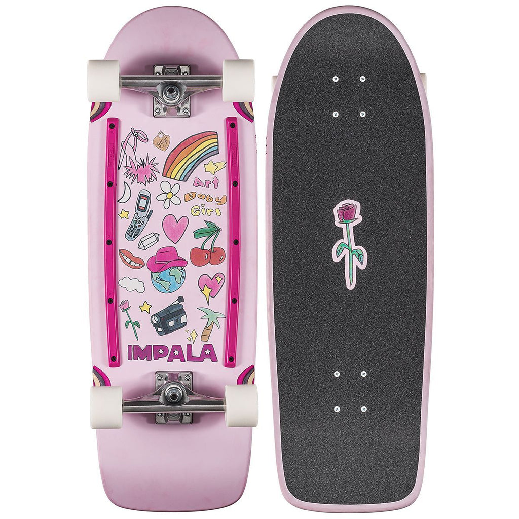 IMPALA  //  Latis Cruiserboard ART BABY GIRL