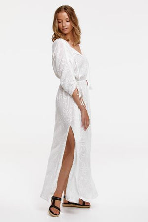 TIGERLILY  //  Isla Isabella Maxi Dress ANTIQUE WHITE