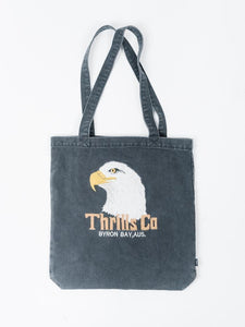 THRILLS  //  Reliance Denim Tote FADED BLACK